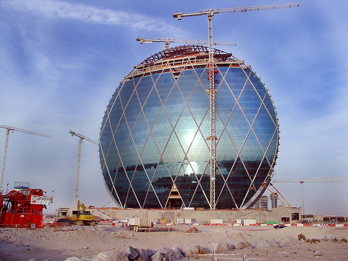 Aldar HQ day time as seen on Build It Bigger.
