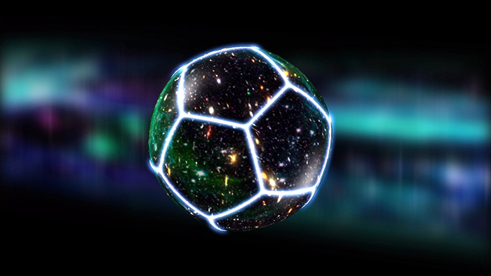 Is the true shape of the Universe a soccer ball?  Cosmologist Jean-Pierre Luminet thinks so.
