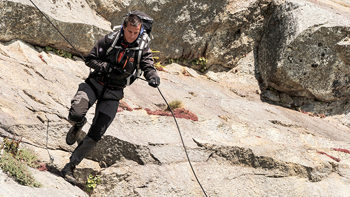 "RUNNING WILD WITH BEAR GRYLLS -- ""Kate Winslet"" Episode 204 -- Pictured: Bear Grylls -- (Photo by: Mark Challender/NBC)"