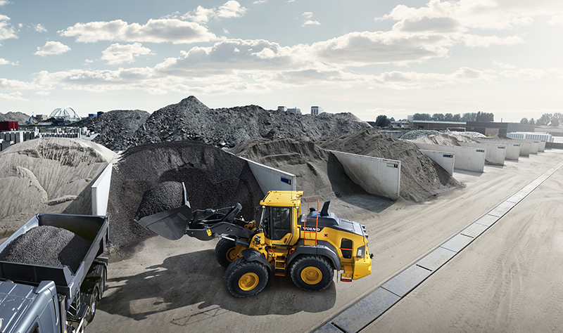 Star picture of the L110H wheel loader for horizontal cropping formats